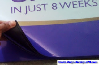Waterproof Vinyl on Magnetic Sheet