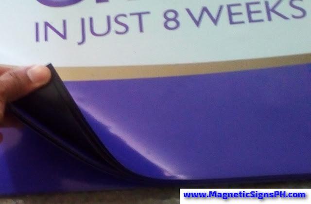 Waterproof Vinyl on Magnetic Sheet