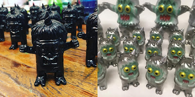 Designer Con 2018 Exclusive Ugly Unicorn Vinyl Figures by Rampage Toys