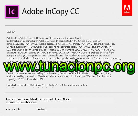 Adobe InCopy CC 2018 Full Español