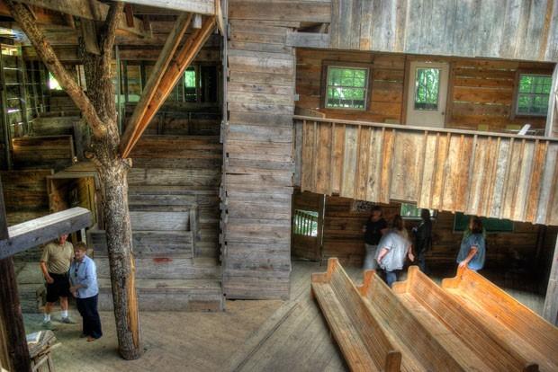 Rumah Pohon Terbesar Di Dunia 3