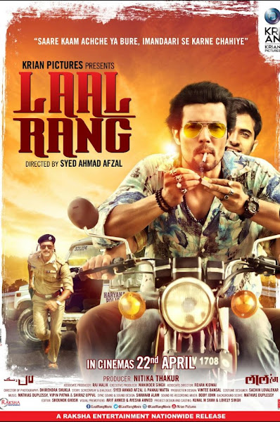 Poster of Laal Rang 2016 720p Hindi DVDRip Full Movie Download