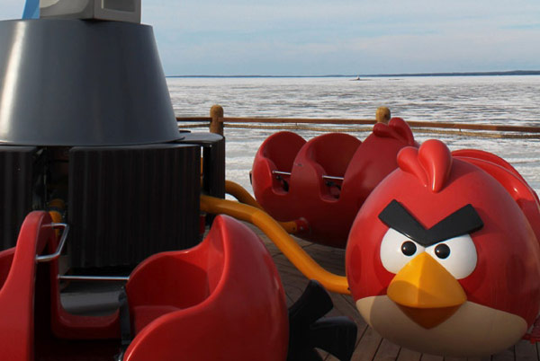 Angry Birds Land in Sarkanniemi Finland