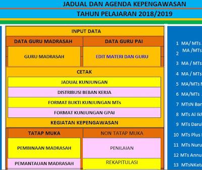 Aplikasi Kinerja Pengawas Madrasah/Sekolah