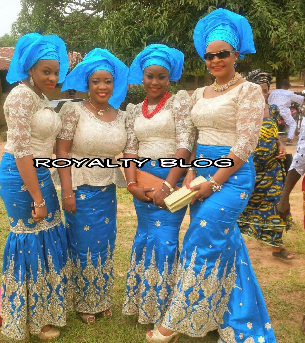 PHOTOS FROM SINACH & JOE'S TRADITIONAL MARRIAGE