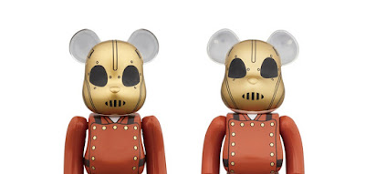 Disney's The Rocketeer 400% & 100% Be@rbrick Vinyl Figure Box Set by Medicom Toy