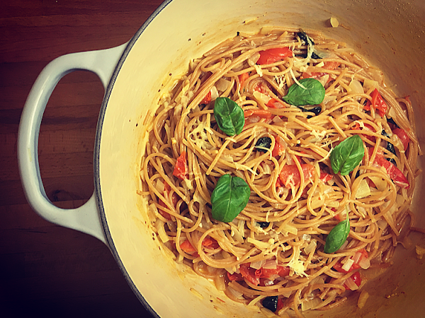 Working gal's one-pot pasta