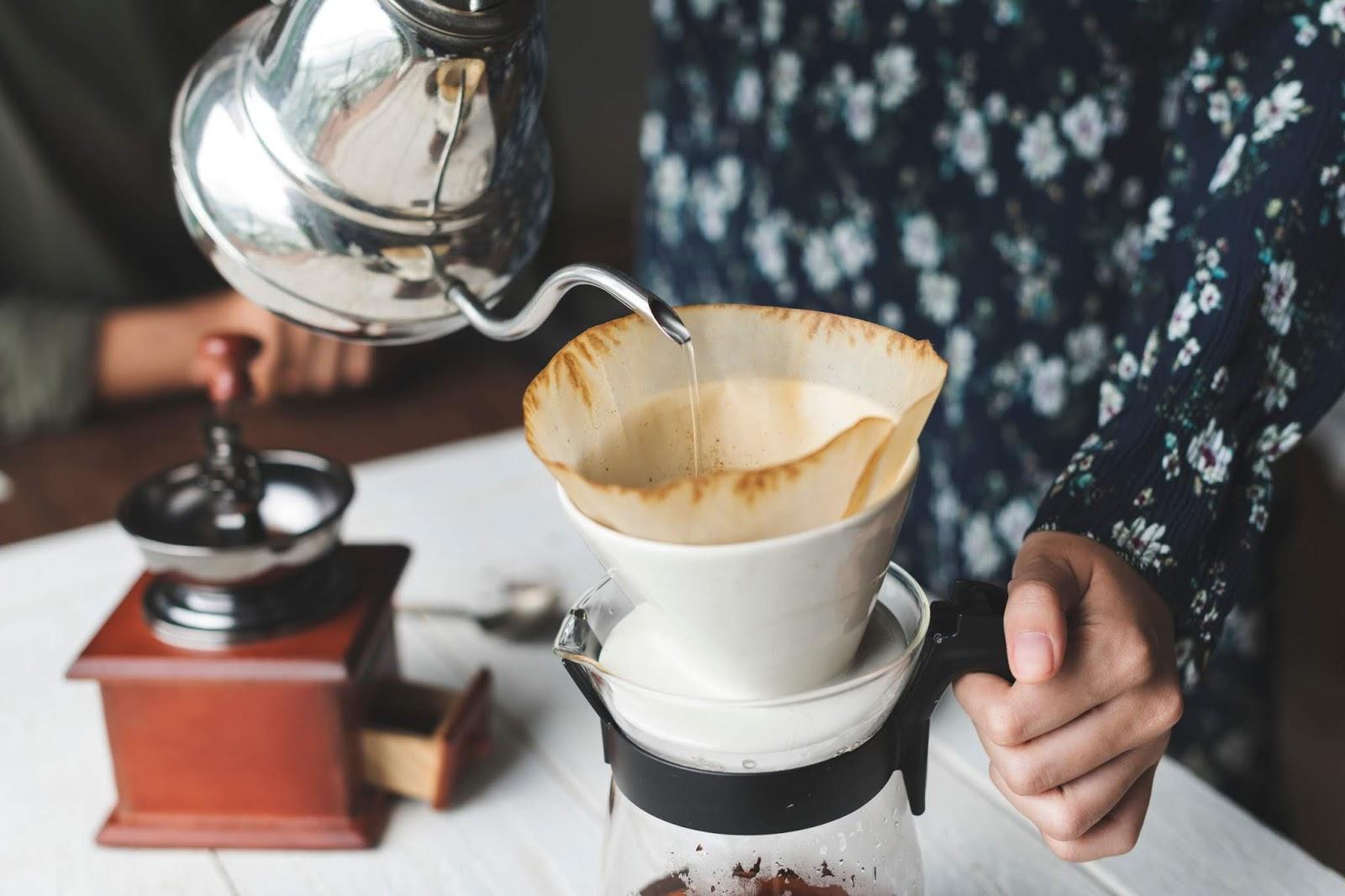 kawa z dripa jak zrobić
