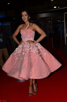 Catherine Tressa looks super cute in strapless sleeveless deep short dress at 64th Jio Filmfare Awards South ~  Exclusive 032.JPG