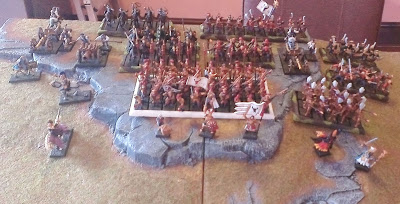 Warhammer Fantasy battle report: Vampire Counts vs Empire.