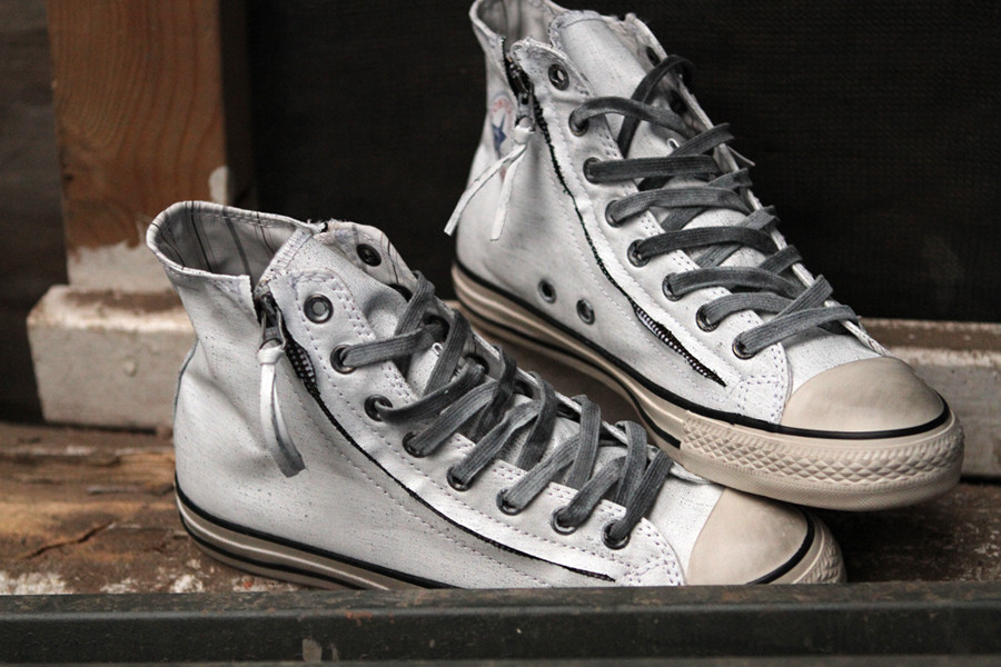 timeless design c74ba 01012 Recipe for Downtown Flava  Converse by John Varvatos Double Zip    SHOEOGRAPHY