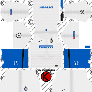 Inter Milan 2018/19 UCL Kit - Dream League Soccer Kits