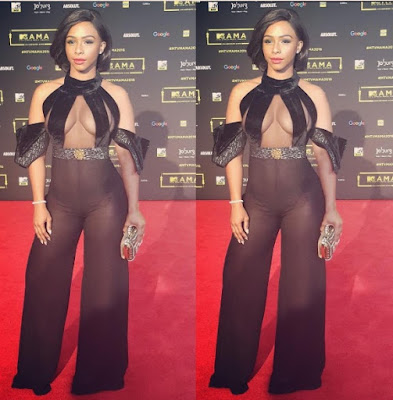 More photos from stunning ladies at MTV AFRICAN MUSIC AWARD 2016