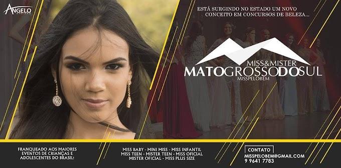 Miss&Mister Mato Grosso do Sul pelo Bem será em junho e busca candidatas em BRASILÂNDIA E REGIÃO