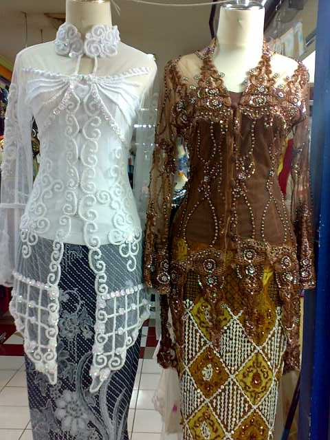 Fashion Kebaya Akad Nikah Modern 2011 Model Desain Baju