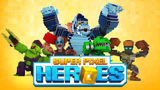 Super Pixel Heroes Apk Mod v1.1.30 (Unlimited Money)