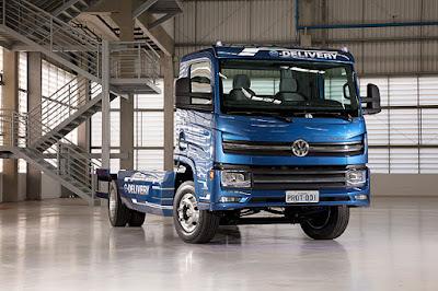 Caminhão elétrico nacional chega ao mercado em 2022