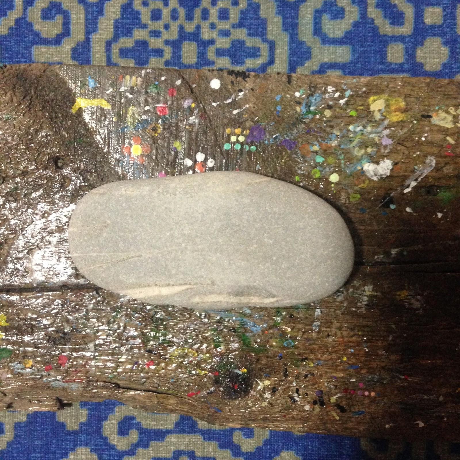 Tas Boyama Stone Painting Kus Cenneti