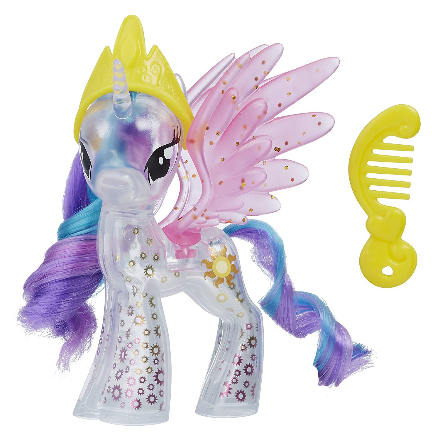 Mlp princess celestia brushables mlp merch - Princesse poney ...