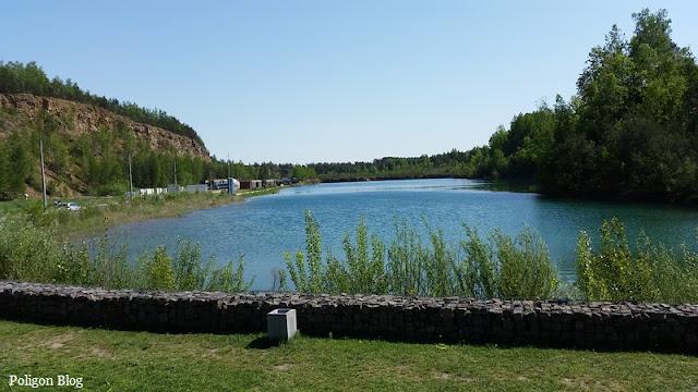 Kamieniołom, Jaworzno, Śląsk, Gródek, baza nurkowa, Koparki Jaworzno