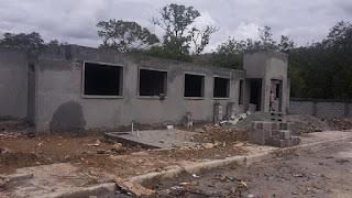 Despacho vicepresidencia y otras instituciones construyen obra social en Juan Santiago, Elías Piña