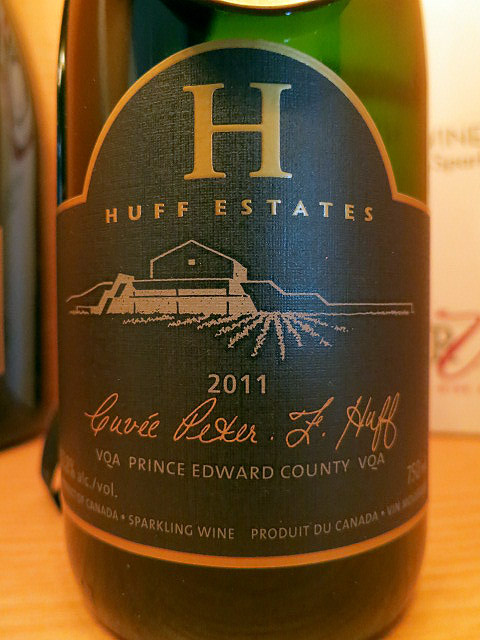 Huff Estates Cuvée Peter F. Huff 2011 (91 pts)