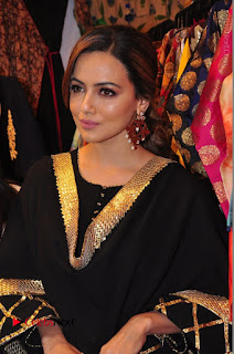 Bollywood Actress Sana Khan Launches Aakrithi Exibition  0137.JPG