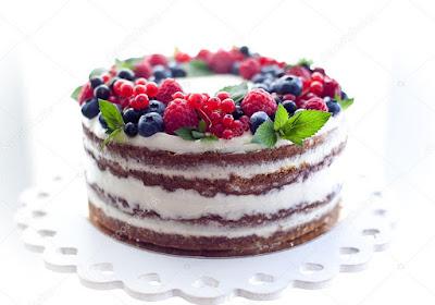 Receta de Pastel Corona de Frutas