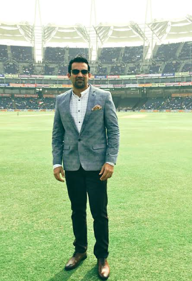 Spotted : Zaheer Khan in Brune shoes from Voganow