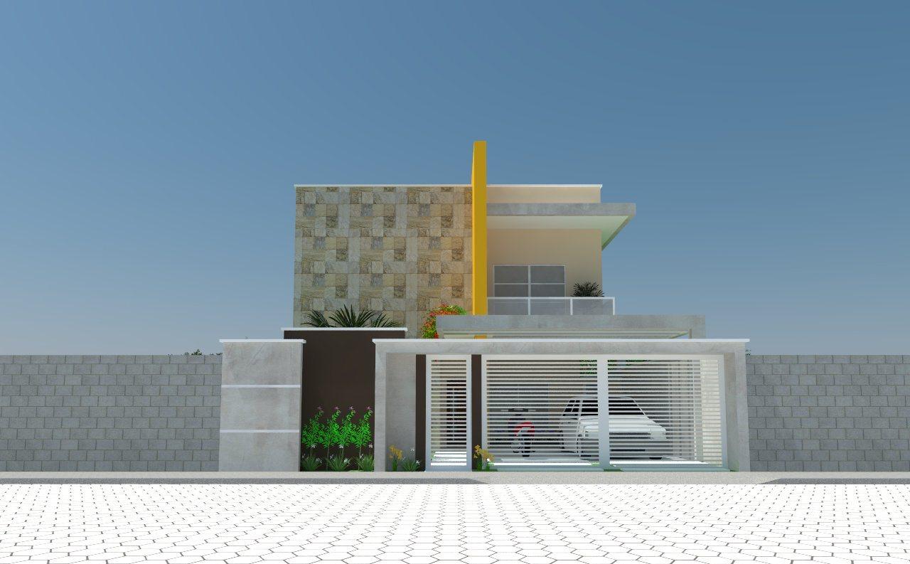 Excepcional A Urbanística: Fachada da casa: com ou sem telhado? NA82