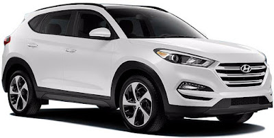The all new Hyundai Tucson SUV wallpaper white