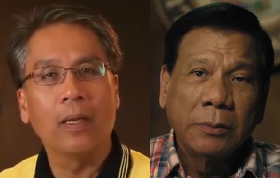 Watch Sexy girl group leader video on 'CHRISTMAS GREETING of Duterte & Roxas'