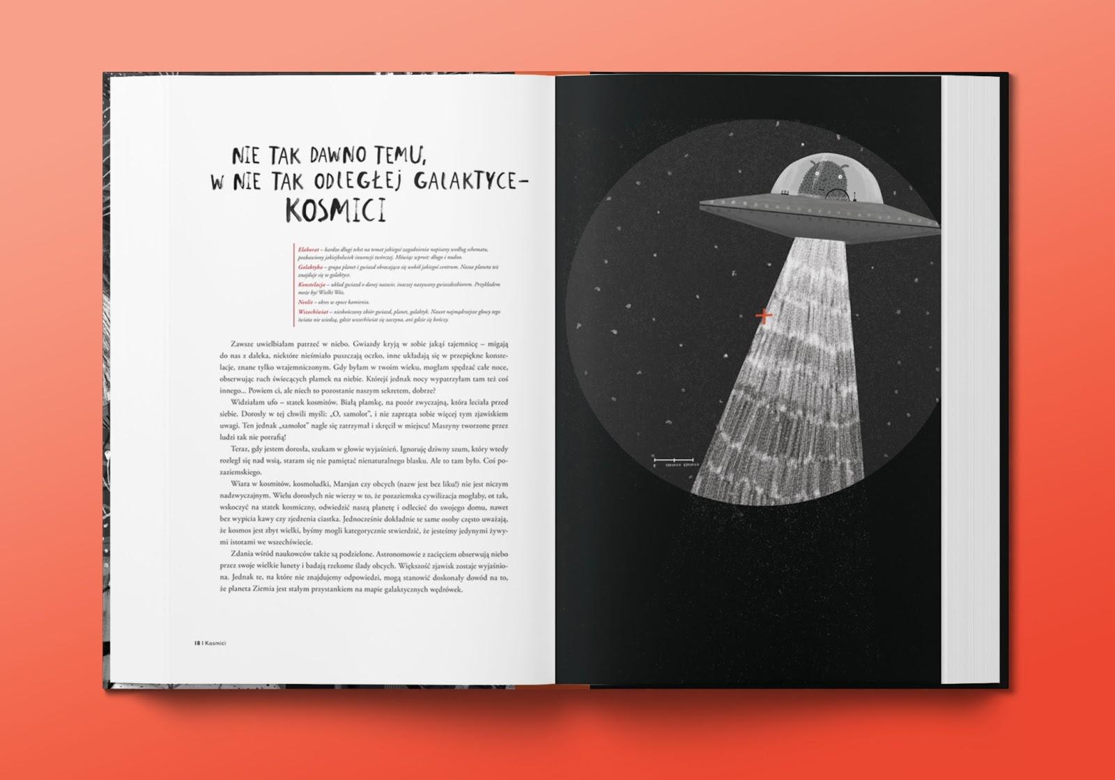 opowiadanie o kosmitach
