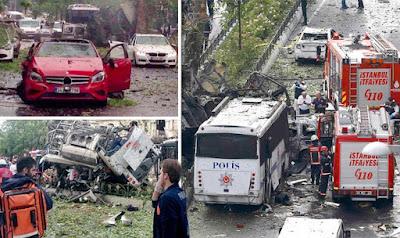 Isztambul, Törökország, pokolgép, terrorcselekmény, Kurdisztáni Munkáspárt