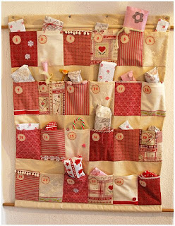 CALENDARIO DE ADVIENTO de patchwork