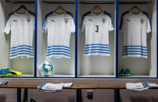 Uruguay 2016 Copa America Away Kit