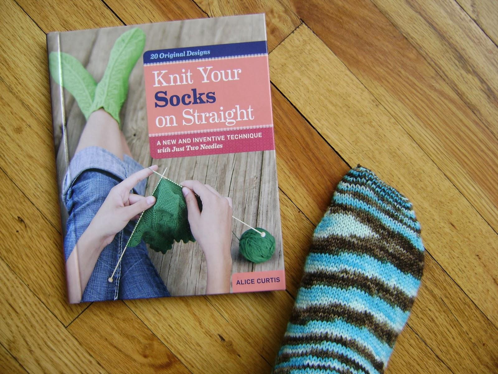 f7157cd65 Creative Designs by Sheila Zachariae  Knit Socks On Straight Needles ...