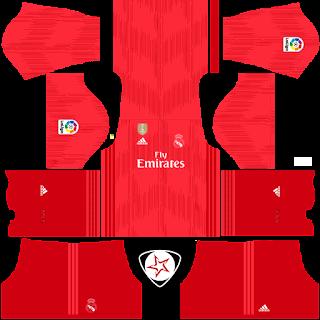 2018-2019 Real Madrid DLS Kits