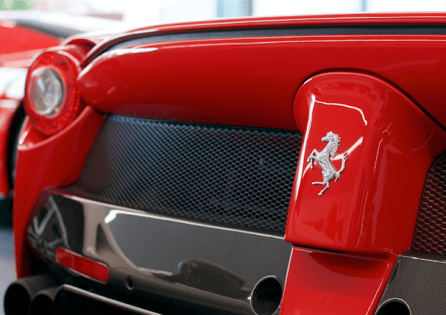Ferrari LaFerrari rear and badge