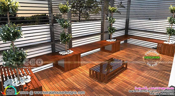 House patio design
