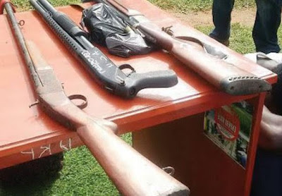 Ambrose Alli University Lecturers Belonging to a Deadly Cult Group Arrested with Guns