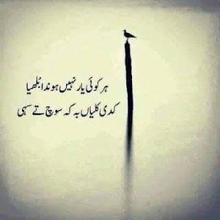 Har koi yaar nahi hunda bulleya - Bulleh Shah 2 line Urdu Poetry, Sad Poetry, Bulleh Shah,