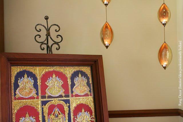 The Hanging Brass Lamps Are From Ahmedabad India