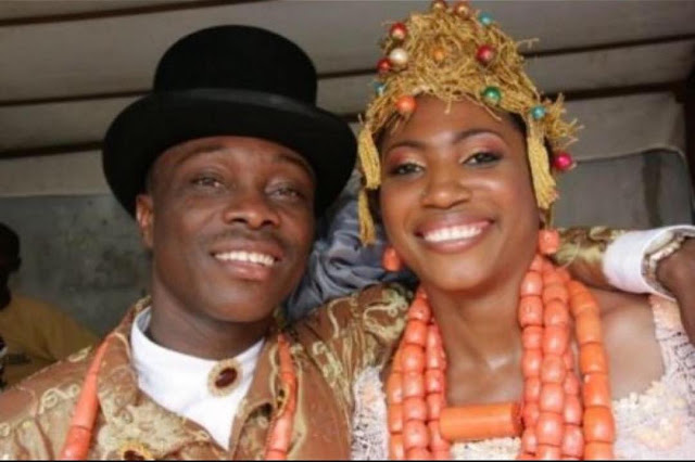 Julius Agwu and his wife Ibiere