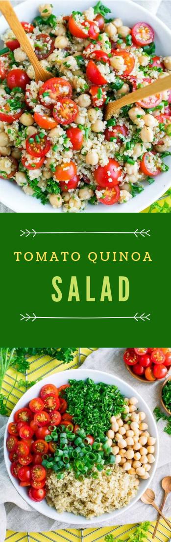 TOMATO QUINOA SALAD #healthy