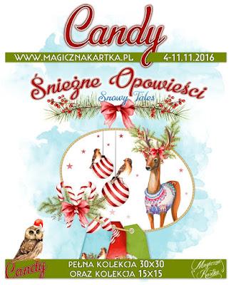 Śnieżne Opowieści - Candy w Magicznej Kartce
