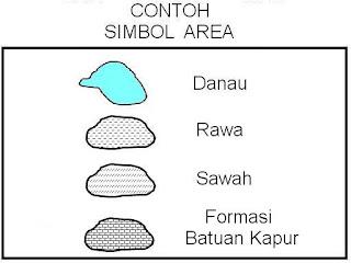 Komponen Lengkap pada Peta