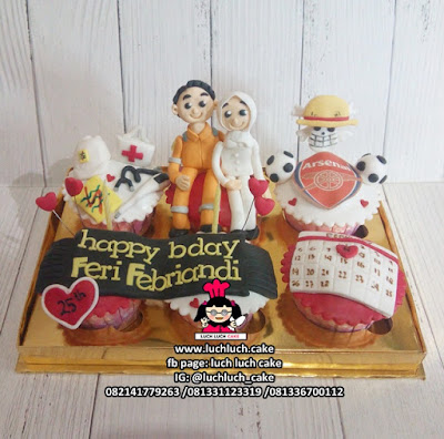 Cupcake PLN dan Anime One Piece