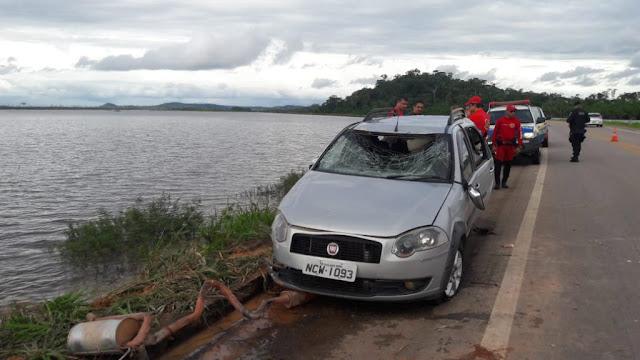 Suposto motorista de aplicativo cai em rio e duas pessoas morrem em Porto Velho