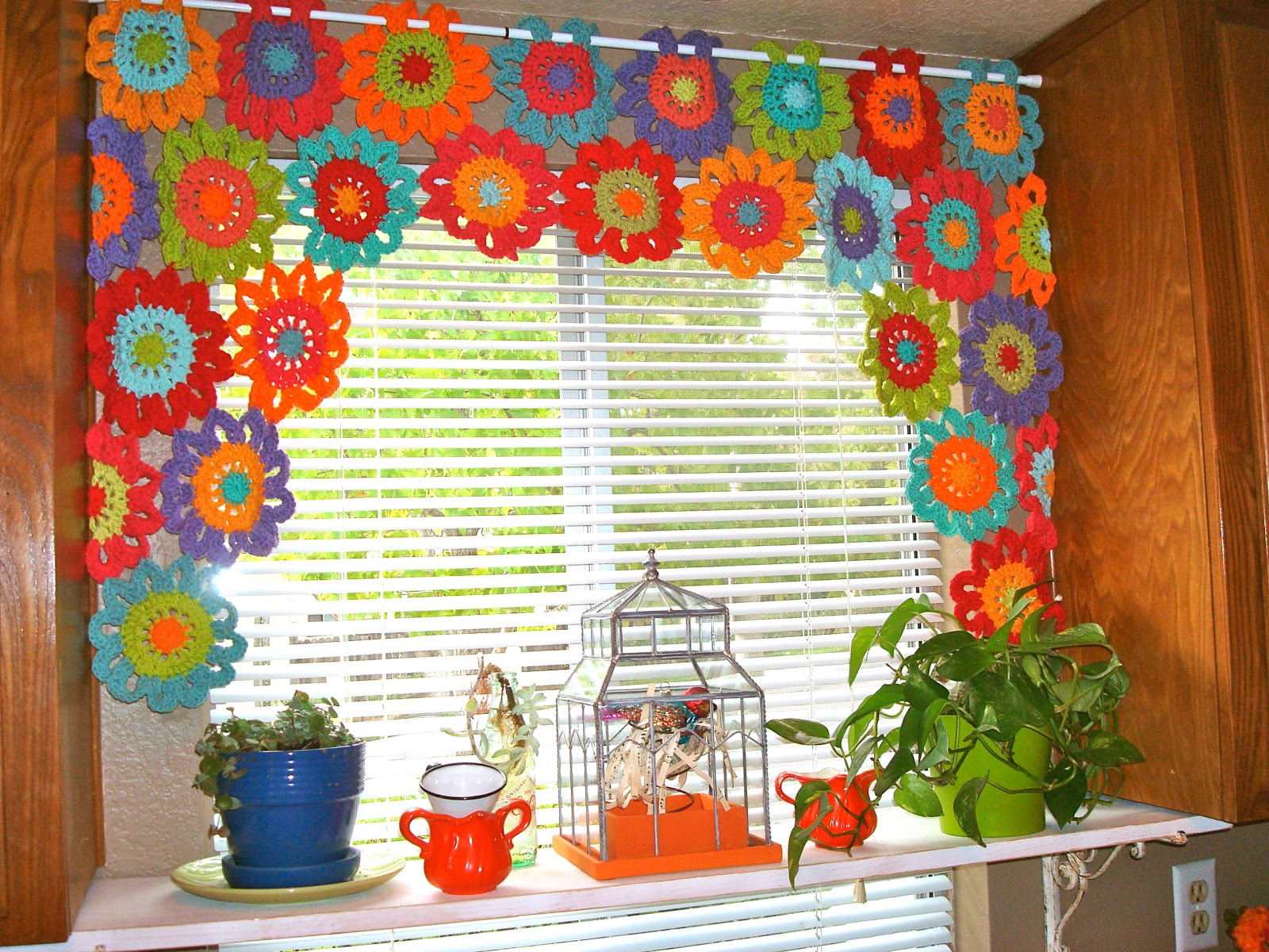 kitchen valance patterns renovated ideas once upon a pink moon flower power tutorial